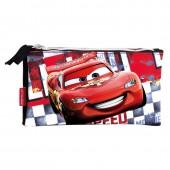Estojo Triplo Mc Queen Cars Acceleration