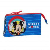 Estojo Triplo Mickey Me Time