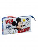 Estojo Triplo Mickey Things