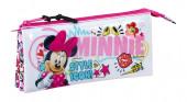 Estojo triplo Minnie Cool