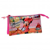 Estojo triplo Minnie Disney Craft Room