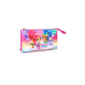 Estojo Triplo Shimmer and Shine Wish