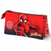Estojo Triplo Spiderman Web