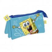 Estojo Triplo Sponge Bob