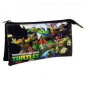 Estojo Triplo Tartarugas Ninja