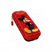 Estojo vermelho Mickey Mouse