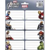Etiquetas Identificativas dos Avengers