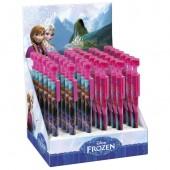 Expositor c/ 36 canetas c/ carimbo Frozen