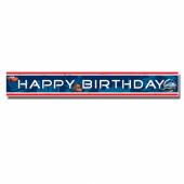 Faixa Banner Happy Birthday Cars