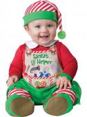 Fato Ajudante Pai Natal para bebé