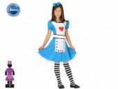 Fato Alice no País das Maravilhas Menina