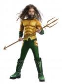 Fato Aquaman Deluxe Menino