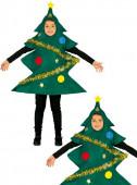 Fato Árvore de Natal adornada