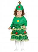 Fato Árvore Natal para menina