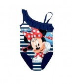 Fato banho Minnie Mouse - Azul