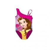 Fato banho Princesa Bela  Disney - Rosa Fuscia