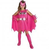 Fato Batgirl Rosa