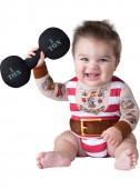 Fato bebé musculoso