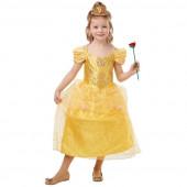 Fato Bela Princesas Disney Glitter Sparkle