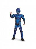 Fato Blue Spartan musculoso