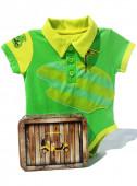 Fato Body de golfe para bebé