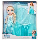Fato + Boneca Elsa Frozen