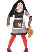Fato boneca gótica diabólica