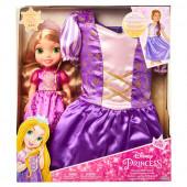Fato + Boneca Rapunzel Disney