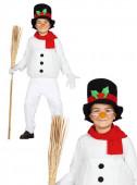 Fato Boneco de neve divertido