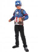 Fato Capitão América com caixa