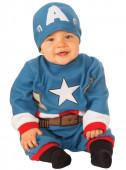 Fato Capitão América para Bebé