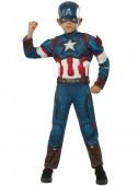 Fato Capitão América  para menino