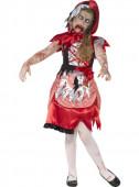 Fato Capuchinho Vermelho zombie