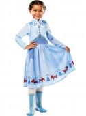 Fato Carnaval Anna Frozen Disney