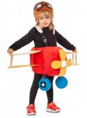 Fato Carnaval Avião Infantil
