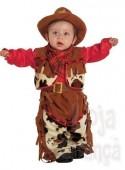 Fato carnaval bebé cowboy