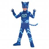 Fato Carnaval Catboy PJ Masks 7 a 8 anos