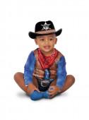 Fato Carnaval Cowboy Corajoso Bebé