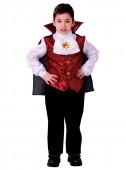 Fato Carnaval Criança Menino Vampiro