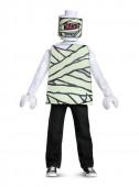 Fato Carnaval de Múmia Lego infantil