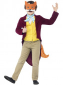 Fato Carnaval do fantástico Mr Fox