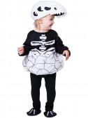 Fato Carnaval Esqueleto Dinossauro Bebé