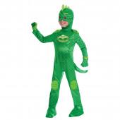 Fato carnaval Gekko PJ Masks Deluxe 5 a 6 anos
