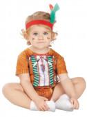 Fato Carnaval Índio Guerreiro Bebé