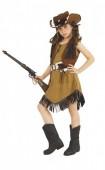 Fato Carnaval Menina Texas Cowgirl