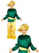 Fato Carnaval Pajem Real verde
