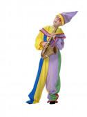 Fato Carnaval Palhaço Arlequim