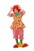 Fato Carnaval Palhaço Menina