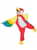 Fato Carnaval Papagaio Colorido