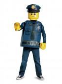 Fato Carnaval Policia Lego